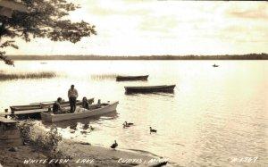 USA - White Fish Lake Curtis Michigan - Real Photo 1940 04.11