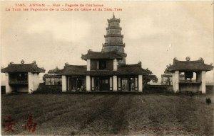 CPA AK INDOCHINA Annam Pagode de Confucius VIETNAM (956655)