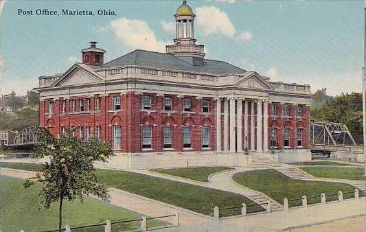 Ohio Marietta Post Office 1913