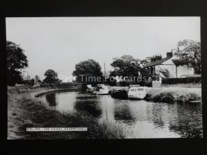 Cheshire GRAPENHALL The Canal - Old RP Postcard by Frith