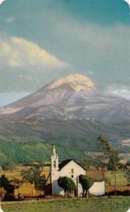 El Volcan Popocatepetl, Mexico,40-60s