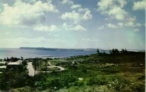 guam, Looking towards Orote Point (1960s) Town House C6167
