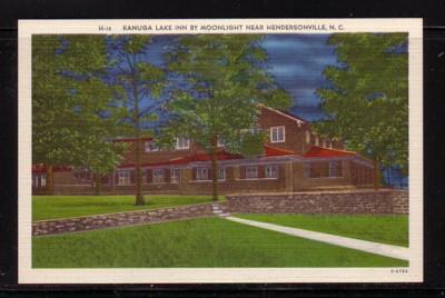 North Carolina colour PC Kanuga Lake Inn Hendersonville