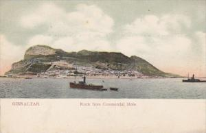Rock from Commercial Mole, Gibraltar, 1900-10s