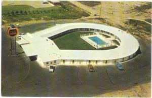 Horseshoe Lodge Motel, Swift Current, Saskatchewan, SK, Canada, Chrome