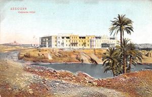 Assouan Egypt, Egypte, Africa Cataracte Hotel Assouan Cataracte Hotel