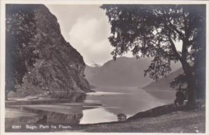 Norway Sogn Parti Fra Flaam Real Photo