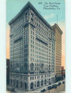 Divided-Back REAL ESTATE TRUST BUILDING Philadelphia Pennsylvania PA H7105