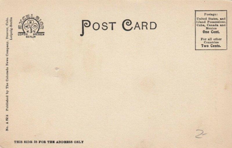 SHADY SPRINGS , Colorado, 1901-07 ;  Cog Road , Ascending Pike's Peak