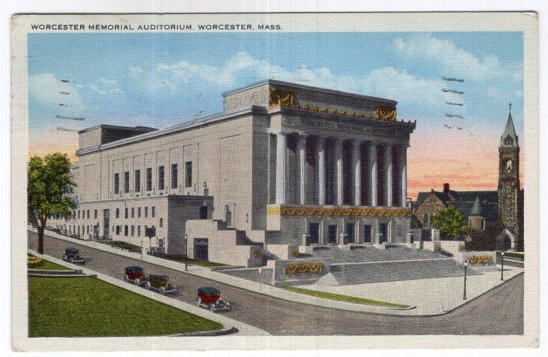 Worcester, Mass, Worcester Memorial Auditorium