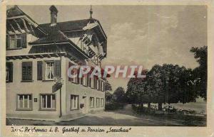 Old Postcard Insel Reichenau i B Gasthof u Pension Seeschau