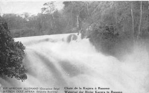 BF35879 Tanzania  occupation belge chute de la kagera front/back scan