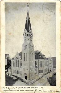 CPA AK AMSTERDAM Oranjekerk Buurt IJ IJ NETHERLANDS (565733)