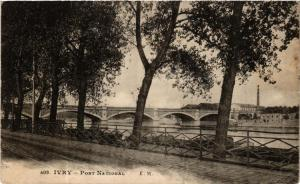 CPA IVRY Pont National (569971)