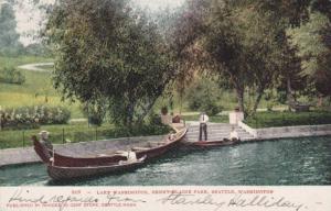 Lake Washington, Denny-Blaine Park, Seattle, Washington, PU-1907