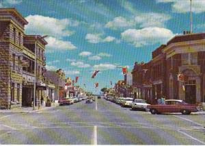 Canada Alberta Fort MacLeod Main Street