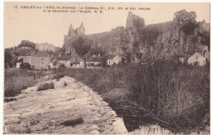 France, ANGLES-sur-l'ANGLIN, Le Chateau, unused Postcard