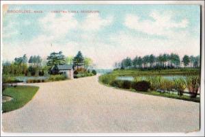 Chestnut Hill Reservoir, Brookline MA