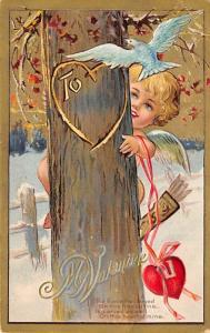 John Winsch Publishing St. Valentines Day Postcard Unused