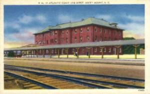Atlantic Coast Line Depot, Rocky Mount, North Carolina, NC, USA Railroad Trai...