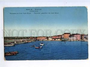 214155 CROATIA Fazana FASANA Brioni island Vintage postcard