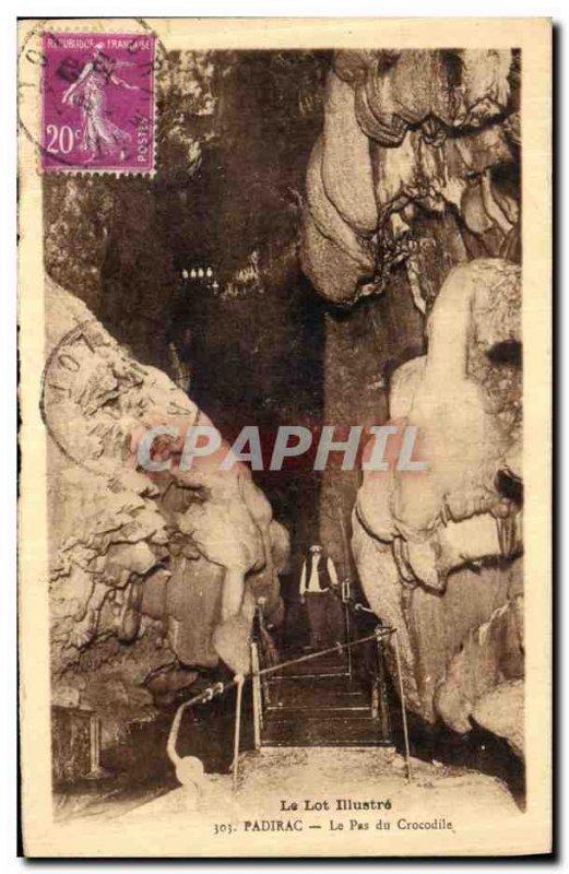 Old Postcard Lot Illustrates Padirac Le Pas Du Crocodile