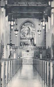 California Burbank Saint Frances X Cabini Chapel Villa Cabrini Academy
