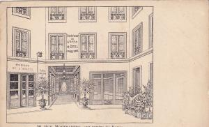 PARIS , France , 1901-07 : Grand Hotel d'Angleterre