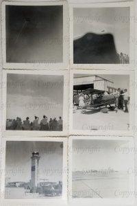 1960s Airshow Snapshots Black & White Texas   D20005