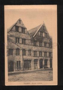 060225 BELGIUM Tournai Maisons romanes Vintage PC