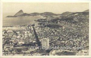 Real Photo Vista Rereh Rio De Janeiro Brazil Unused