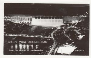 RP: SPOKANE , Washington , 1930-40s; Night View - Coulee Dam