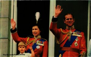CPM AK H.M. Queen Elizabeth&H.R.H. Prince Philip BRITISH ROYALTY (791730)