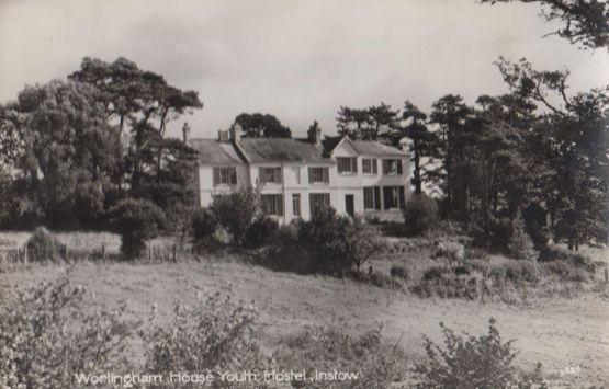 Worlingham House Youth Hostel Instow Devon Rare Real Photo Postcard