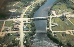 IRON BRIDGE , Ontario , 1950-60s ; Mississaugi River