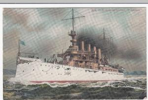 US Armoured Cruiser, Tennessee, Tennessee Class PPC, Unposted, USN