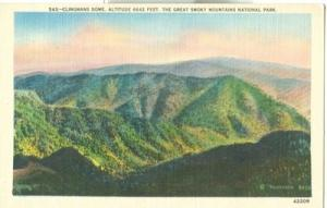 Clingmans Dome, The Great Smoky Mountains National Park, ...