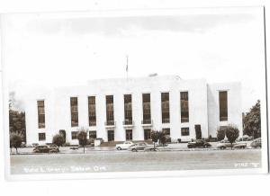 RPPC Salem Oregon State Library 1930s & 1940s Cars