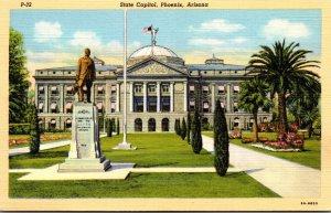 Arizona Phoenix State Capitol Building Curteich