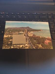 Vintage Postcard:Top of Waikiki Hawaii, Revolving Restaurant