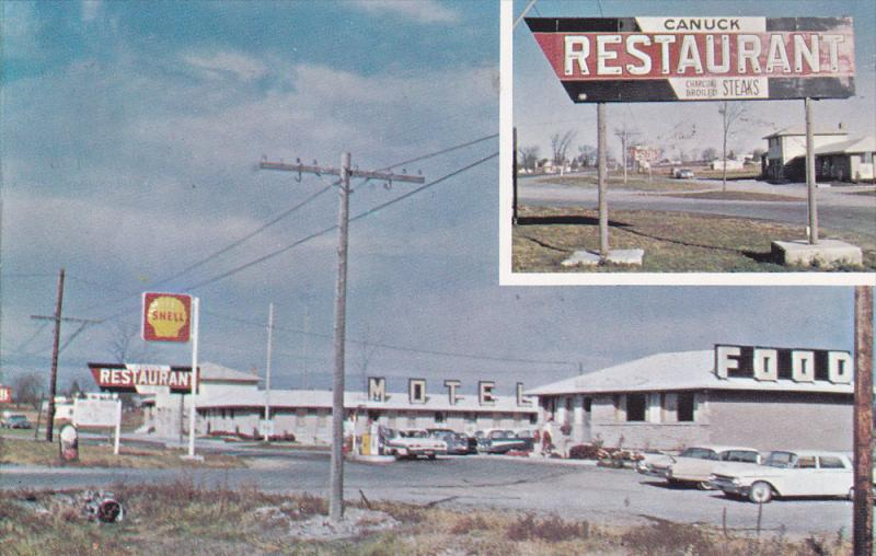 Shell Gas Station & Canuck Restaurant , NAPANEE , Ontario , Canada , 50-60s