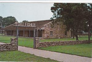 Entrance to Fort Fisher, Garrison Museum, Texas Ranger Headquarters, WACO, Te...