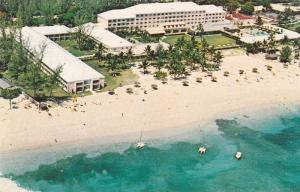 Air view, Emerald Beach Plantation and Hotel, Nassau, Bahamas,PU-40-60s