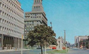 View of University Avenue, Toronto, Ontario, Canada, 40-60´s