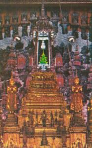 Thailand Bangkok The Emerald Buddha