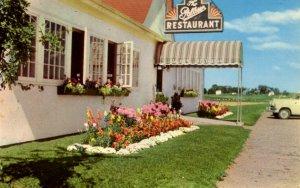 Truro, Nova Scotia - The Palliser Restaurant - on the Amherst Hwy - 1950s
