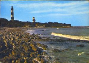 POSTAL 61270: Ile d Oleron playa faro