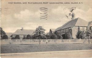 Port Washington, Long Island, New York Antique Postcard (T586)