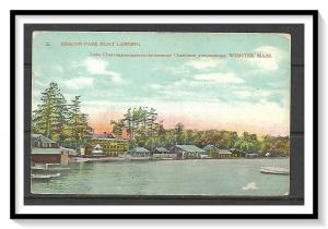 Massachusetts, Webster - Beacon Park Boat Landing