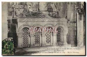 Old Postcard authentic Holy Tomb SAint Eutrope pilgrimage Purpose